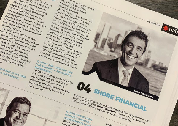 Shore Financial ranked #4 in The Adviser's Top 25 Brokerages for 2019.